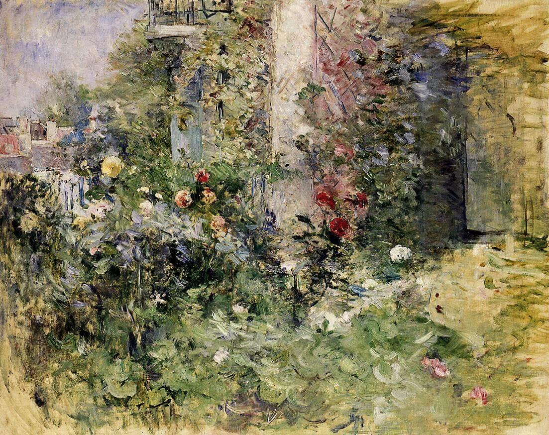 «El jardín de Bougival», de Berthe Morisot